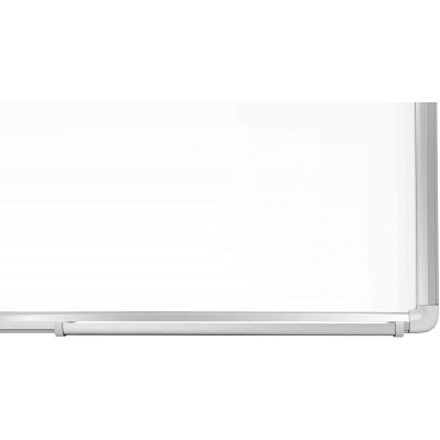 White Lacquered Magnetic Whiteboard Dry Erase 90x180 cm - Techly - ICA-WH 106-4