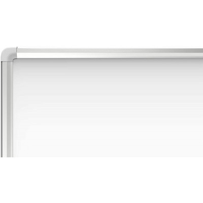 White Lacquered Magnetic Whiteboard Dry Erase 90x180 cm - Techly - ICA-WH 106-3