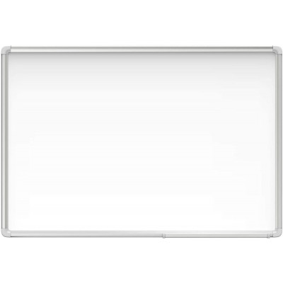 White Lacquered Magnetic Whiteboard Dry Erase 90x180 cm - Techly - ICA-WH 106-2