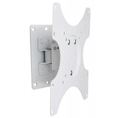Wall Support for LCD LED 19-37' Tiltable 1 Joint White - Techly - ICA-LCD 2900WH-2