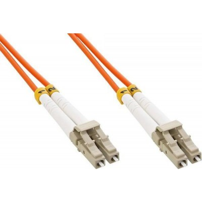 LC/LC Multimode 62.5/125 OM1 20m Fiber Optics Cable - Techly Professional - ILWL D6-LCLC-200-2
