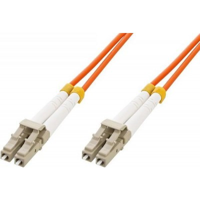 Multimode 50/125 OM2 Fiber Optic Cable LC/LC 15m - Techly Professional - ILWL D5-LCLC-150-1