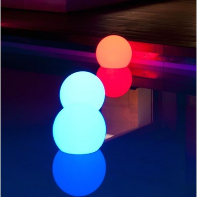 Lampada LED Multicolor da Arredo Ball Small - Techly - I-LED BALL-S-4
