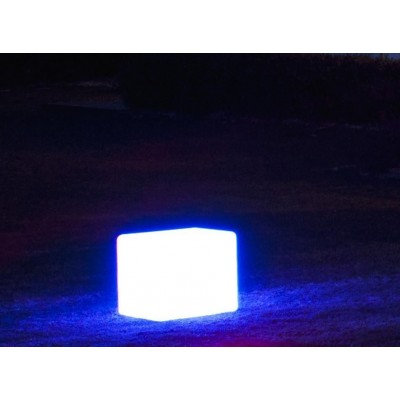 Outdoor LED Lamp Furniture - Cube - Techly - I-LED CUBE-6
