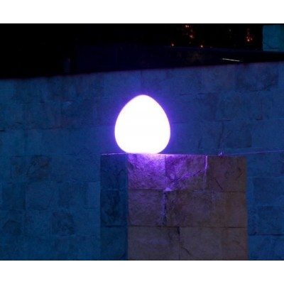 Lampada LED Multicolor da Arredo Rock - Techly - I-LED ROCK-5