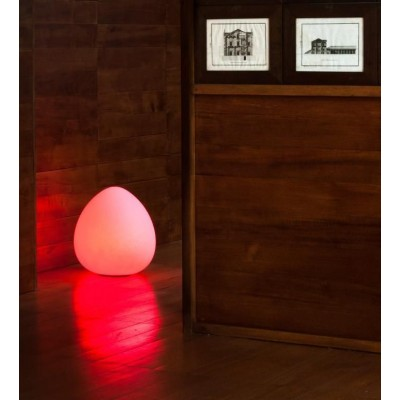 Lampada LED Multicolor da Arredo Rock - Techly - I-LED ROCK-4