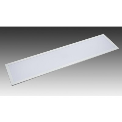 Kit of 2 LED Panels Light Flat 120x30cm 32W Neutral White A+ - Techly - I-LED-P123-F432W-2