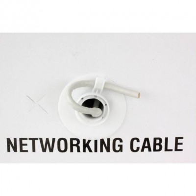 F/UTP Cable Cat.5E CCA 305m Stranded Grey  - Techly Professional - ITP8-FLS-0305-4