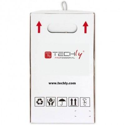 F/UTP Cable Cat.5E CCA 305m Stranded Grey  - Techly Professional - ITP8-FLS-0305-5