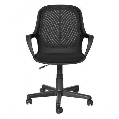 Office Chair with Low Back Black - Techly - ICA-CT MC08BK-1
