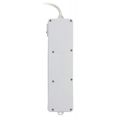 Power Strip 5 Sockets with Switch - Techly - IUPS-PCP-5I-5
