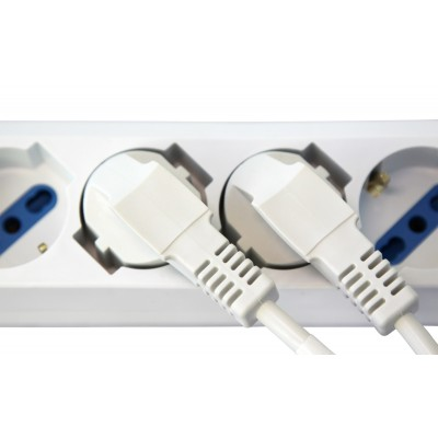 Universal Power Strip 6 sockets 16A - Techly - IUPS-PCP-44A-5