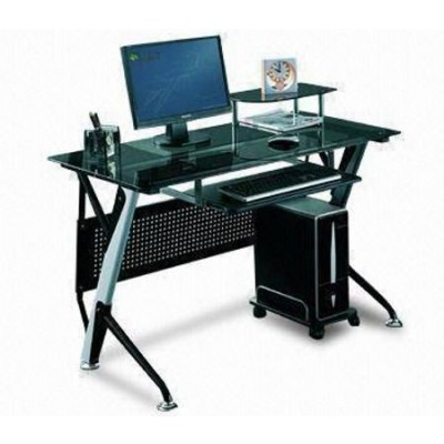 Black Computer Desk - Techly - ICA-TB 3352B-0