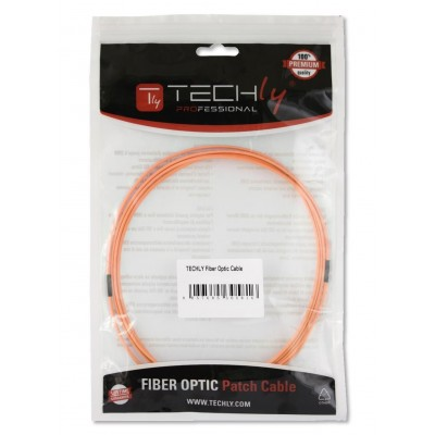 Multimode 62.5/125 OM1 Fiber Optic Cable LC/LC 15m - Techly Professional - ILWL D6-LCLC-150-1