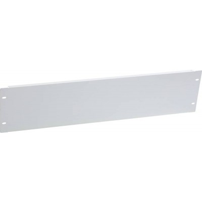 "Blank Panel for 19"" Rack Cabinets Gray 3 Units - Techly Professional - I-CASE BLANK-3-1"