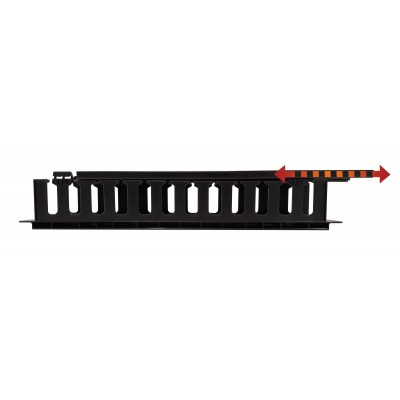 """Cable Entry Panel 19"""" 2U with Cover - Techly Professional - I-CASE CABLE-FR2-4"""