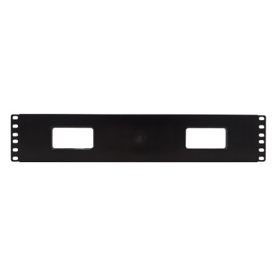 """Cable Entry Panel 19"""" 2U with Cover - Techly Professional - I-CASE CABLE-FR2-2"""