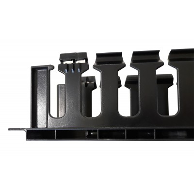 """Cable Entry Panel 19"""" 2U with Cover - Techly Professional - I-CASE CABLE-FR2-7"""