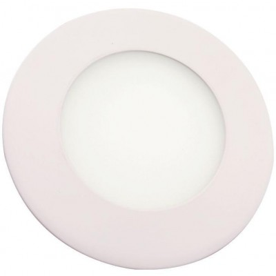 "Round LED Panel with 4"" diameter Neutral White 8W Light - Techly - I-LED-PAN-08W-NW4-1"