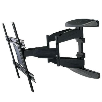 "40-80"" Ultra Slim Full Motion LCD TV Wall Mount Bracket Black - Techly - ICA-PLB 172L-5"