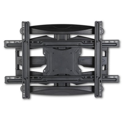 "40-80"" Ultra Slim Full Motion LCD TV Wall Mount Bracket Black - Techly - ICA-PLB 172L-6"
