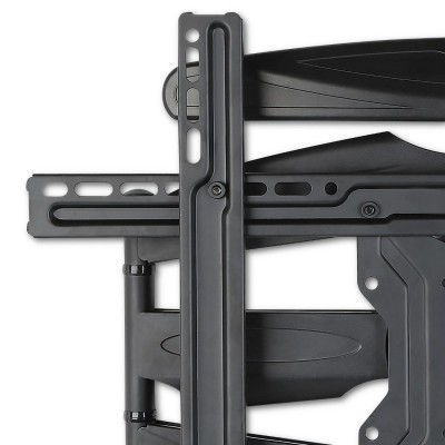 "40-80"" Ultra Slim Full Motion LCD TV Wall Mount Bracket Black - Techly - ICA-PLB 172L-7"