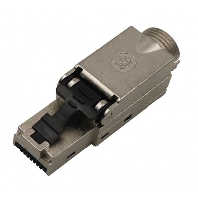 Plug RJ45 Cat.8.1 Shielded STP EconLine - Techly Professional - IWP-8P8C-CAT81STY-3
