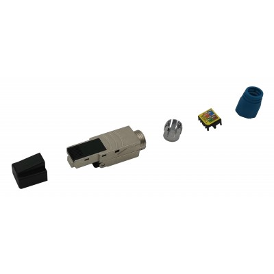 Plug RJ45 Cat.8.1 Shielded STP EconLine - Techly Professional - IWP-8P8C-CAT81STY-6