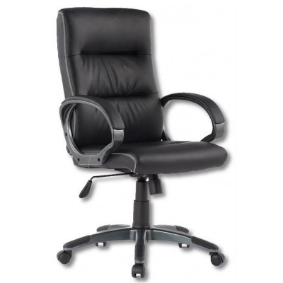Directional Chair with Padded Armrests Black - Techly - ICA-CT 899-0