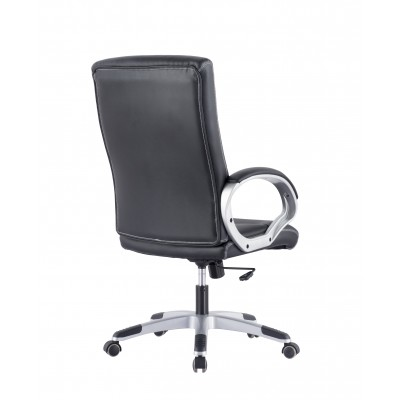 Directional Chair with Padded Armrests Black - Techly - ICA-CT 899-3