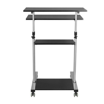 Compact Height-Adjustment Mobile Cart - Techly - ICA-TB TPM-3-10