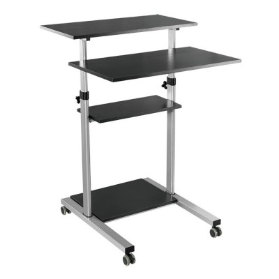 Compact Height-Adjustment Mobile Cart - Techly - ICA-TB TPM-3-9
