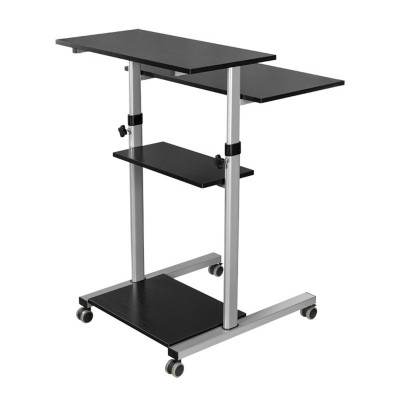 Compact Height-Adjustment Mobile Cart - Techly - ICA-TB TPM-3-12