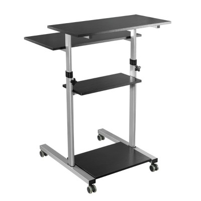Compact Height-Adjustment Mobile Cart - Techly - ICA-TB TPM-3-11