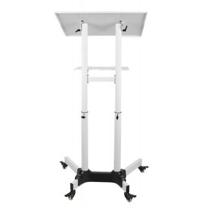 Mobile Workstation White  - Techly - ICA-TB TPM-1WH-8