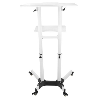 Mobile Workstation White  - Techly - ICA-TB TPM-1WH-7