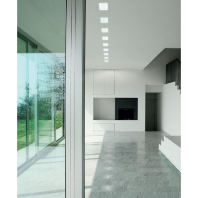 LED Panel 15 x 15 cm 12W Warm White Light - Techly - I-LED-PAN-12W-WWS-4