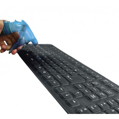 Flexible Silicone Keyboard IP67 - Techly - IDATA KB-R109L-6