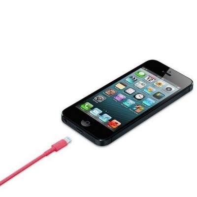 Lightning to USB2.0 Cable 8p Pink 1m - Techly - ICOC APP-8RE-3
