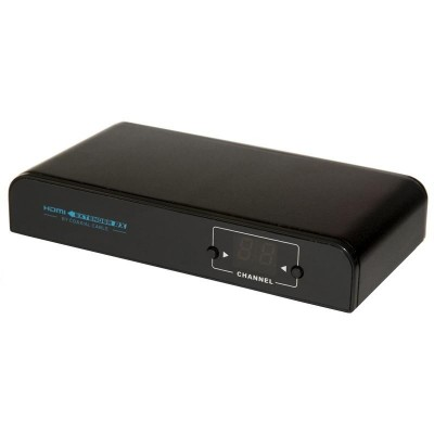 Receiver HDMI Extender up to 700m on Coaxial Cable - Techly Np - IDATA HDMI-COAXR-1