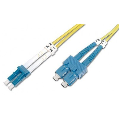 SC/LC Singlemode 9/125 OS2 10m Fiber Optics Cable - Techly Professional - ILWL D9-SCLC-100-1