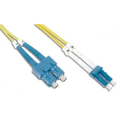 SC/LC Singlemode 9/125 OS2 20m Fiber Optics Cable - Techly Professional - ILWL D9-SCLC-200-2