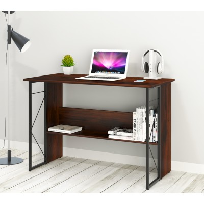 Computer Desk with Modern Design and Sturdy Steel Structure - Techly - ICA-TB-3524C-5