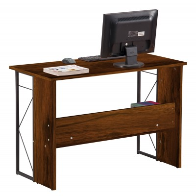 Computer Desk with Modern Design and Sturdy Steel Structure - Techly - ICA-TB-3524C-3