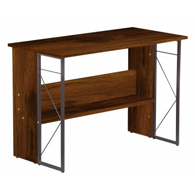 Computer Desk with Modern Design and Sturdy Steel Structure - Techly - ICA-TB-3524C-1