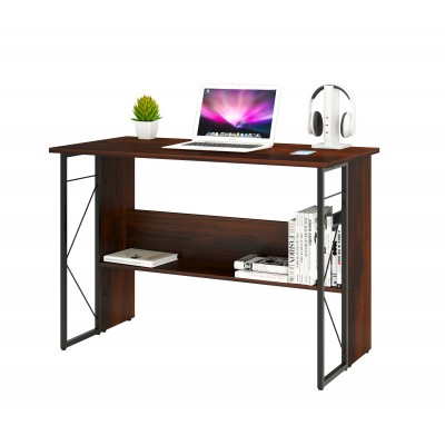 Computer Desk with Modern Design and Sturdy Steel Structure - Techly - ICA-TB-3524C-4