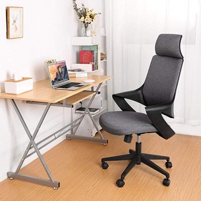 Office Chair with High Modern Design Back Grey  - Techly - ICA-CT MC017-4