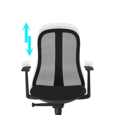 Office Chair with Ergonomic Back Black - Techly - ICA-CT MC086BK-3