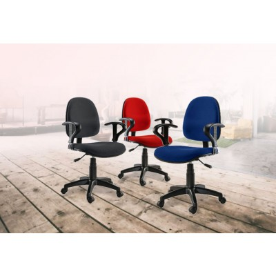 Easy Office Chair Red - Techly - ICA-CT MC04RE-2
