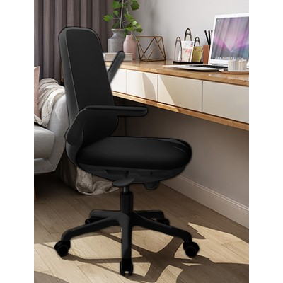Office Chair Adjustable in Height and Variable Tilt Black - Techly - ICA-CT ARMDL-BK-5